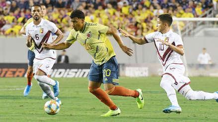 ¡Sin goles! Venezuela igualó 0-0 con Colombia en el amistoso internacional por fecha FIFA
