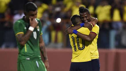 Ecuador goleó 3-0 a Bolivia en el Estadio Alejandro Serrano en Cuenca por la fecha FIFA