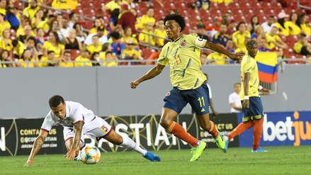 Colombia empató 0-0 Venezuela en el Raymond James Stadium por amistoso internacional fecha FIFA