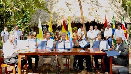Pacto de Leticia: esto fue lo que acordaron Perú y seis países para proteger la Amazonía