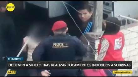 Chimbote | Cámaras captan a un hombre realizar tocamientos indebidos a menores de edad
