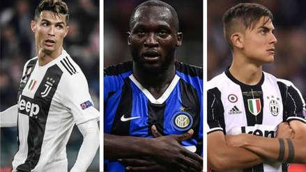 Con Cristiano Ronaldo a la cabeza: los 15 jugadores mejor pagados en la Serie A