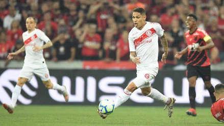 Internacional cayó 1-0 ante Atlético Paranaense en partido de ida por la final de la Copa Brasil