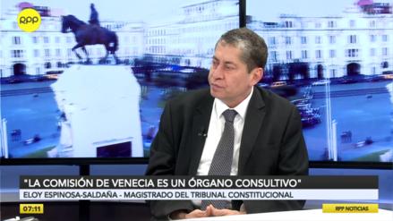 Espinosa-Saldaña: Si no se decide en octubre, no alcanzará el plazo para el adelanto de elecciones