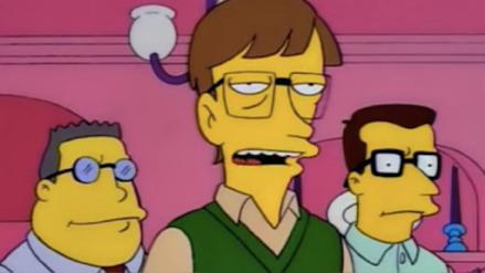 """""""No me hice rico firmando cheques"""": Bill Gates recordó su popular escena en Los Simpson"""
