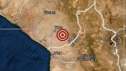 Fuerte sismo de magnitud 5.4 remeció Tacna esta mañana