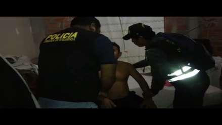Policía capturó a presuntos integrantes de 'Los babys de Piura' dedicados al reglaje de empresarios