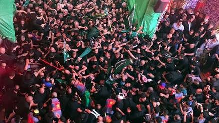Una estampida durante el ritual musulmán de Ashura dejó más de 30 muertos en Irak [VIDEO]