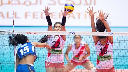 Perú cayó 3-0 ante Italia en cuartos de final del Mundial  Sub 18 de Voleibol Egipto 2019