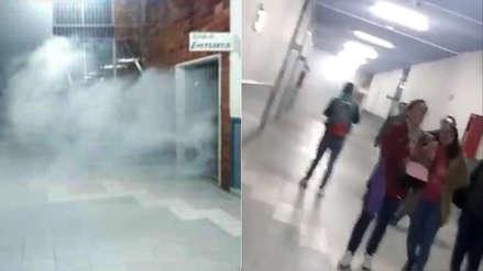 Nuevo Perú exige que PNP dé explicaciones por gases lacrimógenos en Facultad de Letras de San Marcos