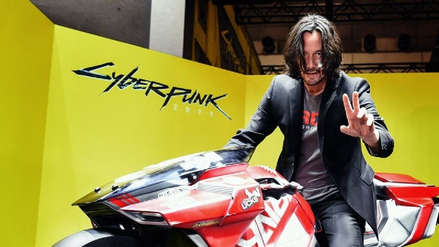 Keanu Reeves se robó el show en la Tokyo Game Show 2019, donde acudió a promocionar Cyberpunk 2077