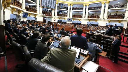 Cuatro bancadas piden votar proyecto de adelanto de elecciones la próxima semana