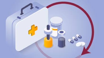 Así es el proceso para abastecer de medicamentos a los hospitales del Ministerio de Salud