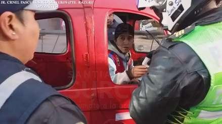 Agentes de tránsito incautan más de 30 mototaxis informales en Surco