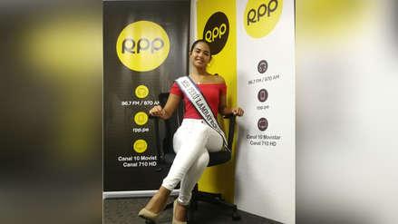 "Nella Costa, la Miss Perú Lambayeque: ""Hay que empoderar a la mujer peruana"""