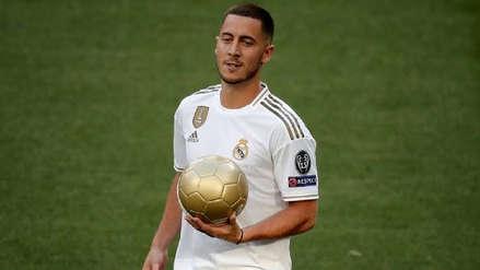 ¡Podrá debutar oficialmente! Eden Hazard estará en partido de Real Madrid ante Levante
