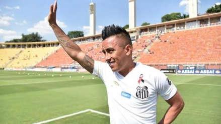 Christian Cueva fue convocado en Santos luego de más de 3 meses y jugaría ante Flamengo