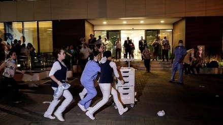 Al menos diez muertos en incendio en hospital de Río de Janeiro