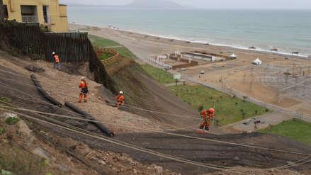 Costa Verde: Instalan geomallas para prevenir deslizamientos en malecón de Magdalena del Mar