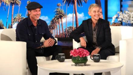 Ellen DeGeneres reveló que salió con una de las ex novias de Brad Pitt