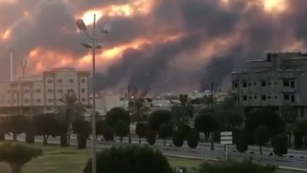 Arabia Saudita reduce a la mitad su producción de petróleo tras ataques con drones