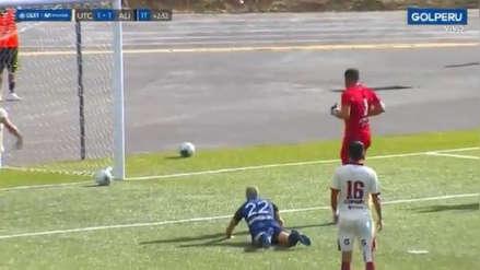Error de Erick Delgado y Emiliano Ciucci terminó en gol de Anthony Rosell para el empate de Alianza Lima