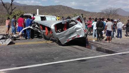Lambayeque | Dos muertos y 10 heridos dejó un triple choque en carretera Panamericana Norte Antigua