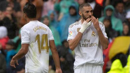 Karim Benzemá marcó doblete en el Real Madrid vs. Levante y entró al Top 20 de goleadores históricos de La Liga