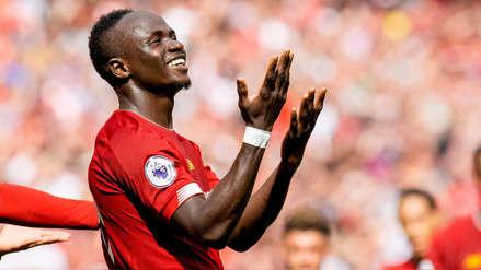 ¡Doblete! Sadio Mané anotó dos goles en la victoria de Liverpool ante Newcastle por la Premier League