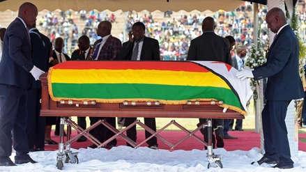 Zimbabue despide a Robert Mugabe con multitudinario funeral [VIDEO]