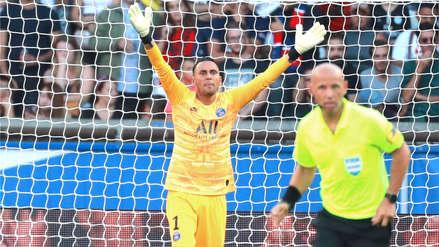 Keylor Navas a poco de enfrentar al Real Madrid:
