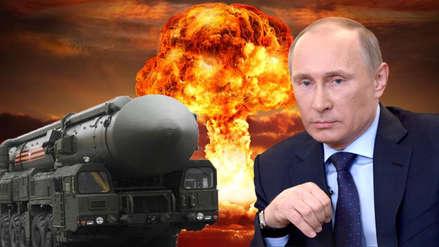 Rusia advierte al mundo sobre el riesgo de una guerra nuclear: