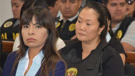 Giulliana Loza sobre traslado de Keiko Fujimori a clínica:
