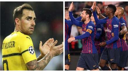¡Calienta la previa! La fuerte declaración de Paco Alcácer contra Barcelona previo al duelo por Champions League