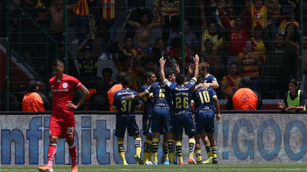Monarcas Morelia venció 2-0 a Toluca con dos asistencias de Edison Flores