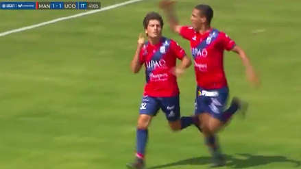 El golazo de Diego Manicero ante Unión Comercio que le dio la victoria a Carlos A. Mannucci
