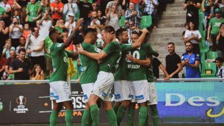 Sin Miguel Trauco, Saint Etienne empató 2-2 ante Toulouse por la fecha 5 de la Ligue 1