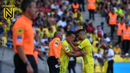 Con Benavente, Nantes venció 1-0 a  Stade de Reims por la fecha 5 de la Ligue 1