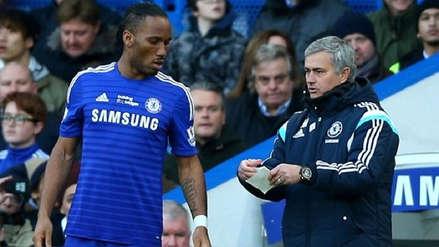 Lo quería mucho: revelan que Didier Drogba lloró tras despido de José Mourinho del Chelsea en 2007