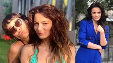 La actriz de Televisa Silvia Navarro reveló que está enamorada de una mujer y presentó a su pareja
