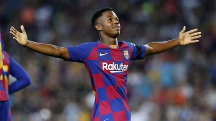 ¿Ansu Fati será titular en el Barcelona vs. Borussia Dortmund por la Champions League?, el técnico azulgrana responde