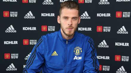¡Hasta que un día puso la firma! David de Gea extendió su contrato con el Manchester United