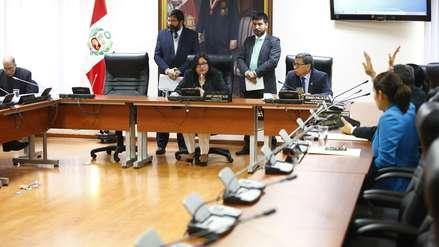 Cinco bancadas anunciaron su retiro de la Comisión de Ética por rechazo a mayoría fujimorista