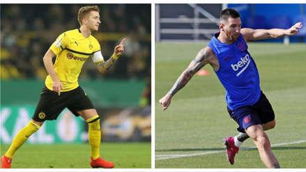 Marco Reus previo al Barcelona vs. Dortmund por Champions League: