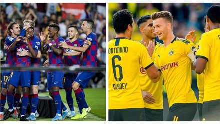Barcelona vs. Borussia Dortmund: los 10 jugadores más cotizados del partido por la Champions League
