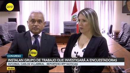 Vilcatoma niega que comisión que investigará a las encuestadoras busque