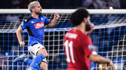 ¡Golpe al campeón! Nápoli venció 2-0 a Liverpool por la fecha 1 del Grupo E de la Champions League