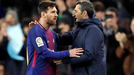 En España revelan el plan que tiene Ernesto Valverde con Lionel Messi ante Borussia Dortmund