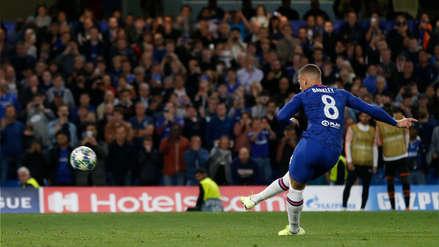 ¡Perdió el gol del empate! El increíble penal errado de Ross Barkley en el partido entre Chelsea y Valencia