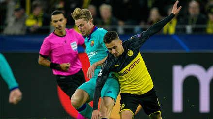 ¡Defendió la casa! Borussia Dortmund empató 0-0 con Barcelona por el grupo F de la Champions League